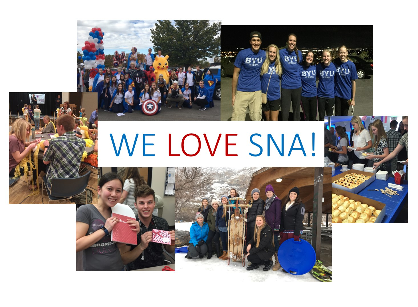 We Love SNA!